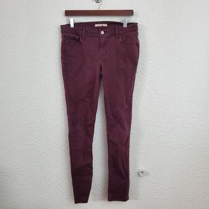 Levi's 710 Super Skinny Jeans in Plum Purple 31